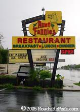 Roadside Peek Sit Down Restaurants Florida 2