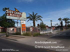 The Log Cabin Motel, which opened in 1939 as the Log Cabin Auto Court, was one of the last survivors of the old motor courts as the city began renewal ...