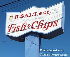 Roadside peek fast food joints northern california for H salt fish