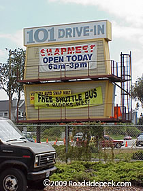 101 Drive In Theatre Demolished Ventura Ca Photo By Roadsidek