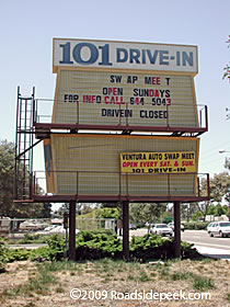 The 101 Drive In Theatre Was A Ventura County Favorite Open Air For Decades Located Right Off Of Freeway Ropriately Named