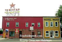 The Star Hotel In Elko Is Home To A Basque Restaurant Rooftop Marquee One Of More Familiar And Famous Sights See
