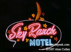 Sky Ranch Motel Neon