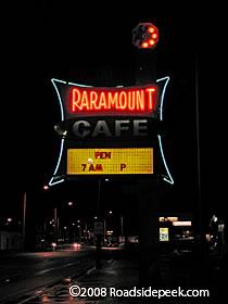 Roadside Peek Neon Eateries New Mexico 2