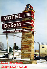 Desoto Motel Far Right Olean Ny Photo Courtesy Mark Hackett