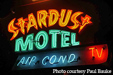 Roadside Peek Neon Motels Wildwood